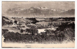 CPA Genève Vue Des Alpes Prise Du Salève  Suisse - GE Genève
