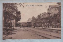 CPA - Liban - Aley - La Gare