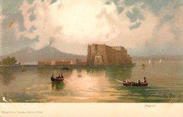 [DC4671] CARTOLINA - ILLUSTRATA - NAPOLI - FIRMATA  LA PIRA - Non Viaggiata - Old Postcard - Napoli (Naples)