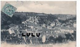 DEPT 23 ; Precurseur : Aubusson , Quartier Des Maires - Aubusson