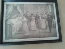 De Geboorte Van De Koninklijke Prins In Het Paleis Te Laken - Lithographies