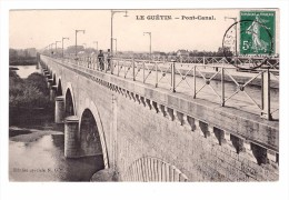 18 Cuffy Le Guetin Pont Canal - France