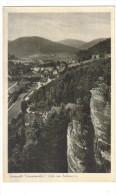 "Carte Postale Ancienne ""Herrenalb. Schwarzwald."" Blick Vom Falkenstein - Bad Herrenalb"