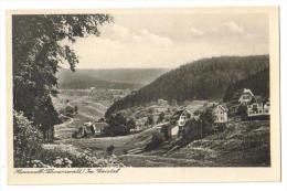 "Carte Postale Ancienne ""Herrenalb. Schwarzwald."" Im Gaistal - Bad Herrenalb"