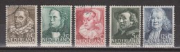 NVPH Nederland Netherlands Pays Bas 305 306 307 308 309 Used Zomerzegels Summer Stamps Timbres De L´ete ALSO PER PIECE - 1891-1948 (Wilhelmine)