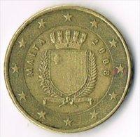 Malta 2008 50 (Euro) Cents - Malta