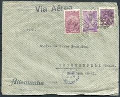 1934 Brazil Airmail Via Aerea Cover - Germany Koln - Luchtpost