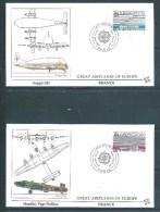 4 Envelloppes  Premier Jour  Avec Les  N°2531/32 Europas ( Paris Et Strasbourg)   30 Avril 1988 - Unclassified