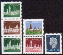 Canada 1985 SG #1148//1161 MNH Group Of 1985 Definitives See Description - 1952-.... Reign Of Elizabeth II