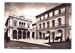 CITTA' DI CASTELLO Cassa Di Risparmio Very Fine  Used  To Rome - Perugia
