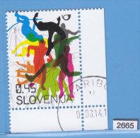 SLOVENIA 2009; Mi: 732; USED CTO; Berlin World Championships In Athletics, Sports - Slovenia