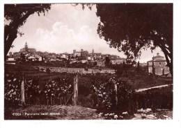 TODI Panorama Verso Levante Very Fine  Used  To Rome 12-07-1943 - Perugia