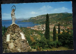 D3035 GARDA ( Verona ) Lago Di Garda - LA MADONNINA ( MADONNA ) DOPPIO ANNULLO 1976 - ED. M. ROSSI 1214 - Italia