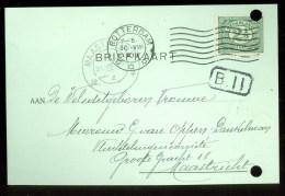 WW-1 * HANDGESCHREVEN BRIEFKAART COMITE VLUCHTELINGEN Uit 1916 Van ROTTERDAM Naar MAASTRICHT (9822c) - Periode 1891-1948 (Wilhelmina)