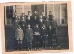 1926, Photo De Classe, 4è Degré, Dampremy Charleroi - 16 Cm X 11,5 Cm - Voir Scan - Photos