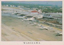 WARSZAWA / WARSAW Airport / Aeropuerto / Aeroporto / Flughafen - Aeródromos