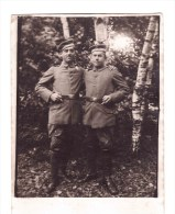REAL PHOTOGRAF  Two German Comerades Very Fine Mint - Militaria