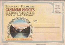 Scenes Along Canadian Pacific Railway , Canadian Rockies , 1910s - Kanada