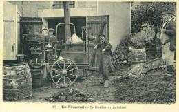 REPRO PLASTIFIEE 21X29,7 Cm REPRESENTANT EN NIVERNAIS : Le DISTILLATEUR AMBULANT - France