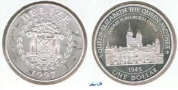 BELIZE DOLLAR 1997 BALMORAL PLATA SILVER G1 - Belize