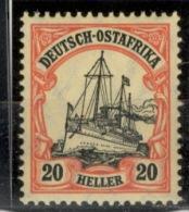 D.O.A.DEUTSCH OSTAFRIKA.1901.MICHEL N°34.NEUF 15G18 - Colonia: Africa Orientale