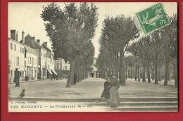 MNO-14 Marcigny  La Promenade ANIME. Cachet Frontal - Otros Municipios