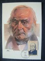 USA 1986 FDC Maxicard U.S. Presidents - John Quincy Adams - United States