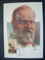 USA 1986 FDC Maxicard U.S. Presidents - James Garfield - Lettres & Documents