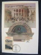 USA 1986 FDC Maxicard U.S. Presidents - White House - Etats-Unis