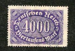 G-12317  Reich 1922- Michel #255 (o)  - Offers Welcome! - Deutschland