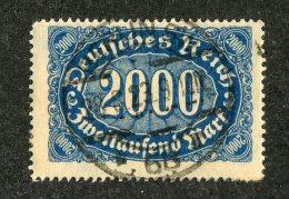 G-12318  Reich 1922- Michel #253a (o)  - Offers Welcome! - Deutschland