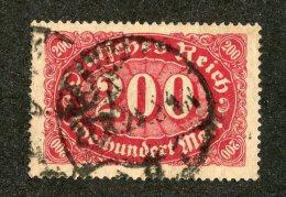 G-12319  Reich 1922- Michel #220 (o)  - Offers Welcome! - Deutschland