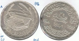EGIPTO POUND  1968 PLATA SILVER G1 - Egipto