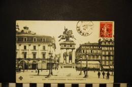 CP, 63, CLERMONT FERRAND Statue De Vercingétorix N° 960 Voyagé En 1909 - Clermont Ferrand