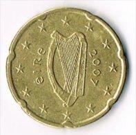 Ireland 2007 20 (Euro) Cents - Ireland
