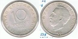 HUNGRIA 10 FORINT 1948 PLATA SILVER G1 - Hungría