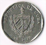 Cuba 2007 1 Peso - Cuba