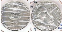 INDIA 50 RUPIA RUPEE 1975 DESARROLLO PLATA SILVER G1 - India