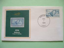 USA 1984 America Duck Stamps - Hunting Tax - 1934 Mallards - Stati Uniti