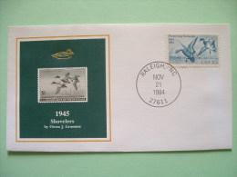 USA 1984 America Duck Stamps - Hunting Tax - 1945 Shovelers - Etats-Unis