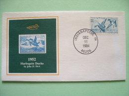 USA 1984 America Duck Stamps - Hunting Tax - 1952 Harlequin Ducks - Etats-Unis