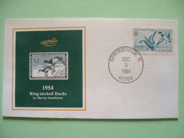 USA 1984 America Duck Stamps - Hunting Tax - 1954 Ring-necked Ducks - Etats-Unis