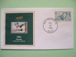USA 1984 America Duck Stamps - Hunting Tax - 1962 Pintails - Wetlands - Etats-Unis