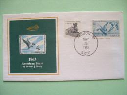USA 1984 America Duck Stamps - Hunting Tax - 1963 American Brant - Train - Etats-Unis