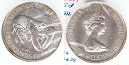 JERSEY 2 POUNDS 50 PENCE 1972 PLATA SILVER G1 - Jersey