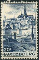 1948 Lussemburgo - Paesaggi - 1940-1944 Occupation Allemande
