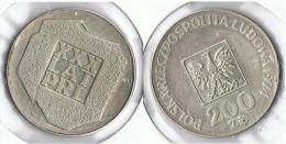 POLONIA 200 ZLOTY 1974 PLATA SILVER G1 - Polonia