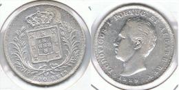 PORTUGAL 500 REIS  1889 PLATA SILVER G1 - Portugal