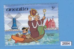 ANGUILLA 1984, WALT DISNEY, CHRISTMAS 1984 IN HOLLAND,  Mi: 622, MNH - Disney
