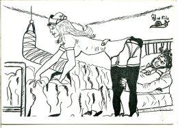 Sizi L'Escargot - Illustration Sizler - Infirmière : Le Plâtre (1983) - Sizi
